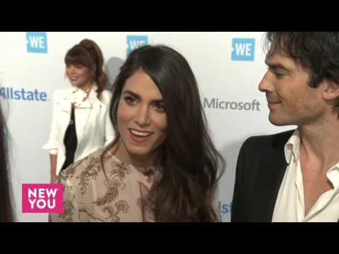 Ian Somerhalder and Nikki Reed Interview at WE Day