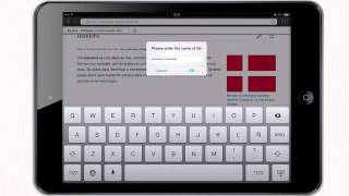 How To Webpage As Pdf On Ipad