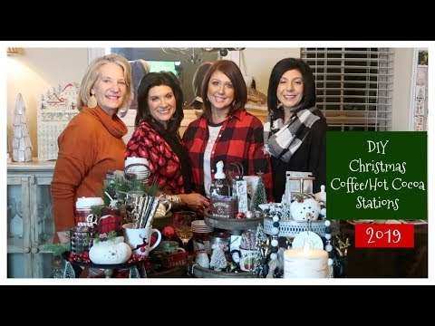 D.I.Y. Christmas Coffee/Hot Cocoa Stations | 2019 | The2Orchids
