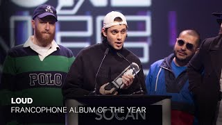 Loud wins Francophone Album of the Year   Live at the 2019 JUNO Gala Dinner & Awards