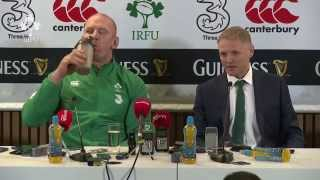 Irish Rugby TV: Ireland v South Africa Post-Match Press Conference