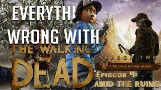 GamingSins: Everything Wrong with The Walking Dead - Season 2 - Episode 4:  Amid The Ruins