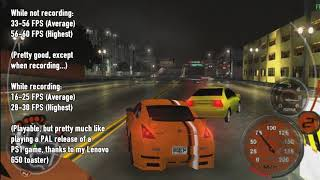 [PPSSPP] Vulkan Rendering Backend Test On Midnight Club 3: DUB Edition.