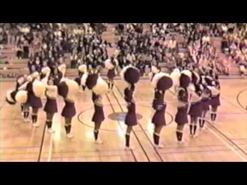 Cedarcrest High School Drill Team 1995-96 State Routine at Sammamish