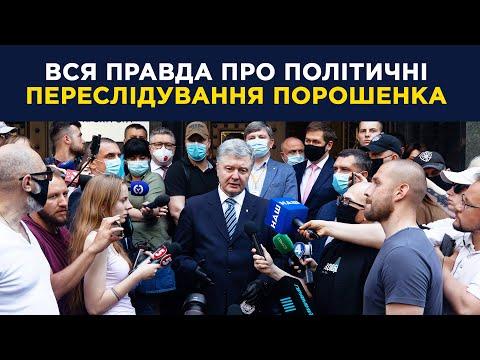 Ганьба для всієї України (про політичне переслідування Порошенка)