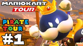 Mario Kart Tour: Pirate Tour Airship Fortress is AMAZING!! - Gameplay Part 1