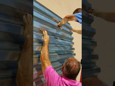 How to install hurricane shutters part 1