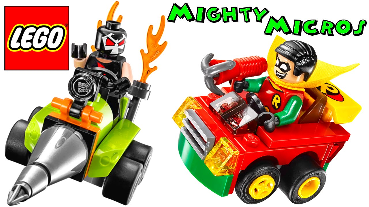 LEGO Robin vs Bane DC Mighty Micros 76062 Review