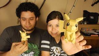 Papercraft de Pikachu Reto y castigo