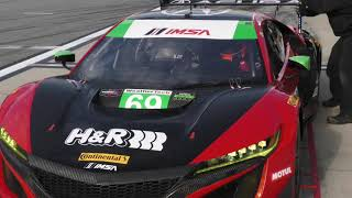 The Acura NSX GT3 is well represented at the #Rolex24. With the exp...