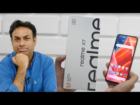 Realme X7 5G Unboxing & Overview with Camera Samples