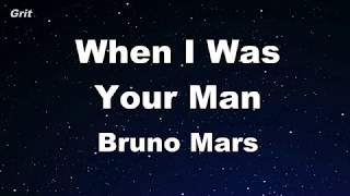 Download lagu When I Was Your Man - Bruno Mars Karaoke 【No Guide Melody】 Instrumental