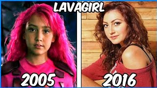 sharkboy and lavagirl antes y despus 2016