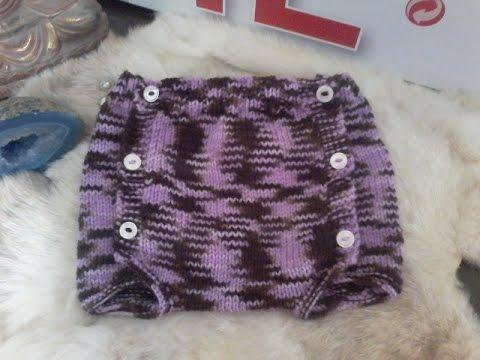tuto tricot layette tricoter une culotte pour b b youtube. Black Bedroom Furniture Sets. Home Design Ideas
