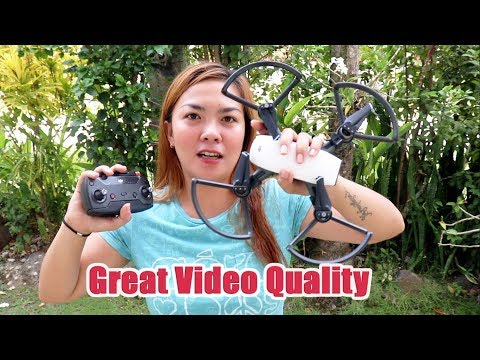 DJI Spark Unboxing and First Test Flight 2018 Philippines (TAGALOG)