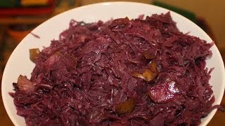 Dutch Oven Red Cabbage Holiday-special - English Grill- And Bbq-recipe - 0815bbq