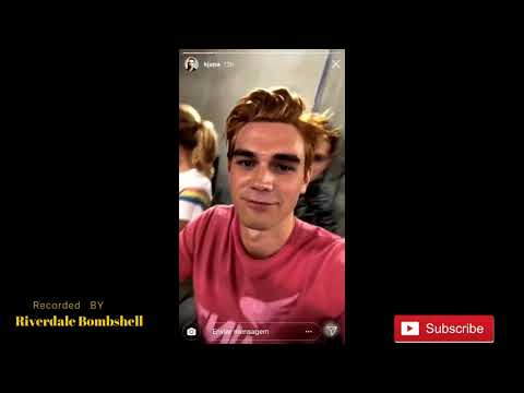 Riverdale Season 3 Cast Table Read Instagram Stories
