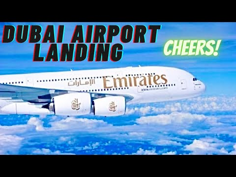 Emirates Airlines Landing At Dubai Airport DXB HD