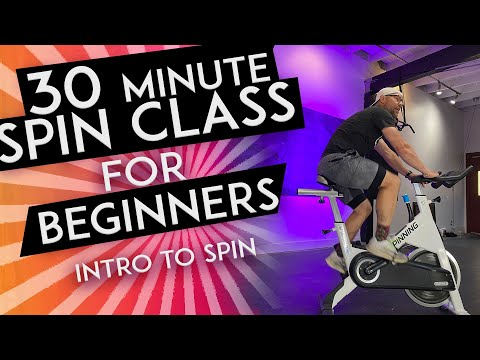 30 MINUTE SPIN CLASS for BEGINNERS Learn Everything You Need to Know about Spin