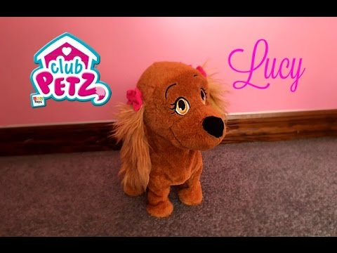 Club Petz LUCY ! | Just Play Animated Plush Dog Review !