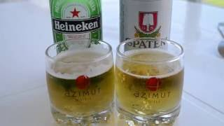 Какое пиво лучше? Spaten или Heineken. Дешевое против дорогого.(Сравним два сорта пиво. Бутылочное пиво Spaten Германия Мюнхен и Heineken Голландия Амстердам. Какое пиво на мой..., 2016-07-25T14:04:46.000Z)
