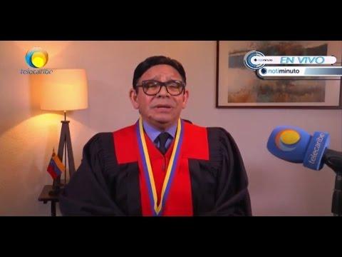 Magistrado del Tribunal Supremo de Justicia Danilo Mojica se pronuncia en contra de la Constituyente