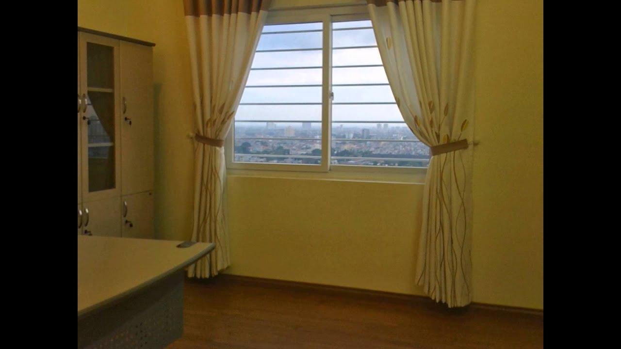 Cho thuê căn hộ chung cư 102 Thái Thịnh đủ đồ