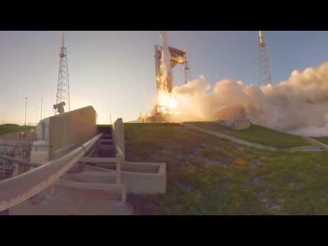 NASA: 360 Degree Video - Encapsulation & Launch of OSIRIS REx - To Bennu and Back