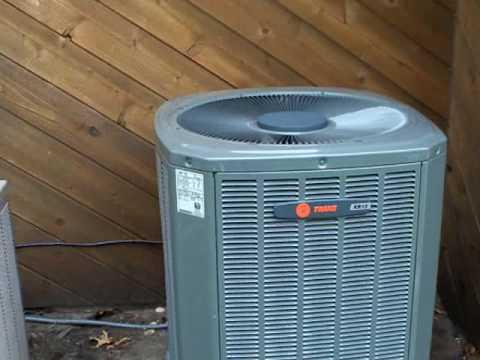 Trane XR13 Air Conditioner - YouTube