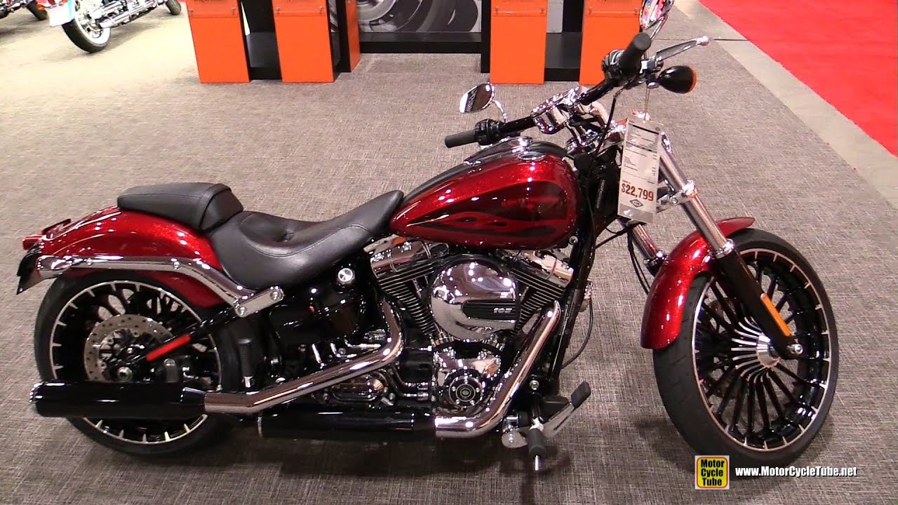 2017 harley davidson softail breakout walkaround 2017 toronto motorcycle show youtube. Black Bedroom Furniture Sets. Home Design Ideas