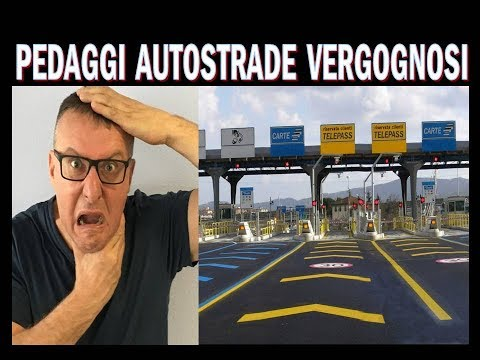 Prezzi autostrada benzina in Italia semplicemente VERGOGNOSI !!!