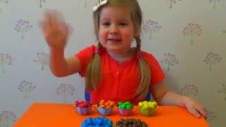 ♥Развивающее видео для детей. Учим цвета на русском и на английском языках