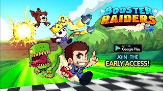 Booster Raiders Gameplay Trailer ANDROID GAMES on GplayG