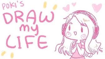 DRAW MY LIFE ❤ ft. Lilypichu ❤   Pokimane