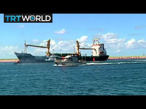 Rebuilding Libya: Benghazi port reopened after three years