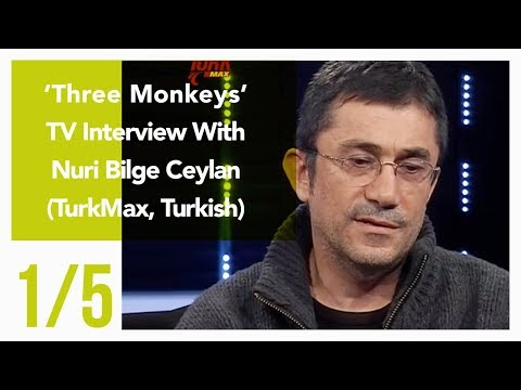 Three Monkeys - TV Interview With Nuri Bilge Ceylan 1/5 (TurkMax, Turkish)