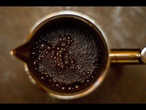 Как заварить кофе в турке видео