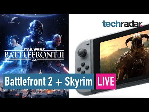 Download Youtube: Battlefront 2 | Skyrim comes to Nintendo Switch LIVE