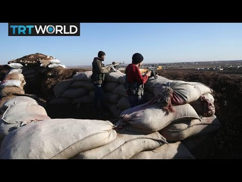 Turkey's Border Mission: Free Syrian Army fights on frontlines of Afrin