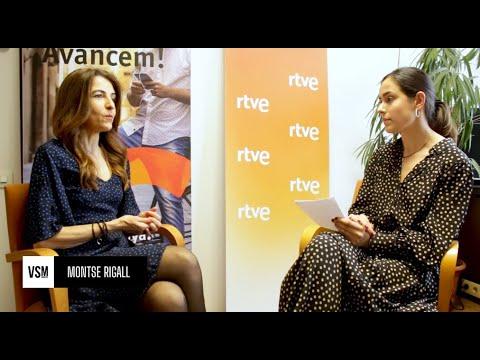Entrevista a Montse Rigall, responsable de comunicación de RTVE.