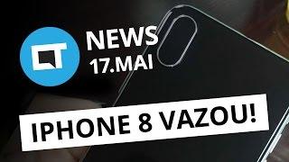 iPhone 8 aparece em imagens de hands-on; Novo Android O; e+ [CT News]