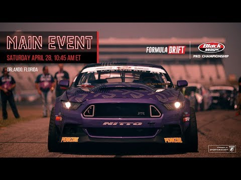 Formula Drift Orlando - Main Event LIVE!