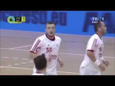 Nikola Lazic - Match (Csm Bucharest) (Left back)
