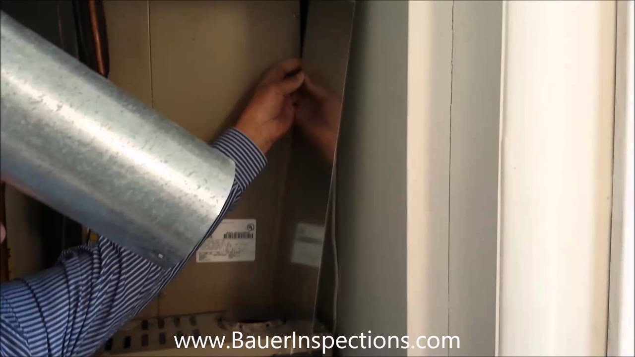 B venting a hot water heater - Installing A Heat Shield Between Single Wall Vent Pipe And Combustible Material Youtube