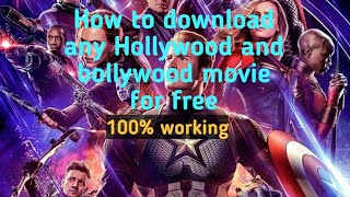 #downloadmovies   How to download Hollywood movies  Best trick 
