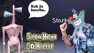 Jangal Main Siren Baja 🥳 | Siren Head 3D Horror With Oggy and Jack
