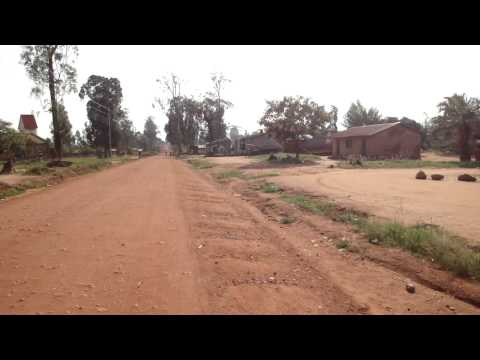 Driving in Aru, Democratic Republic of Congo