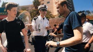 Polizei stoppt Nico Rosberg & uns in Monaco!