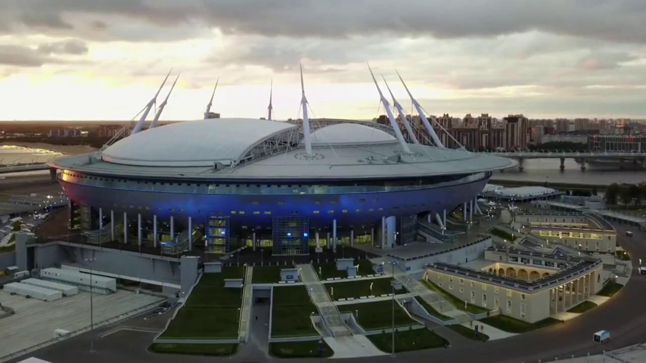 Estadio zenit arena san petersburgo rusia 2018 youtube for Estadio arena