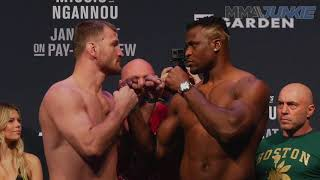 Ufc 220 Miocic Vs Ngannou Weigh In Highlight